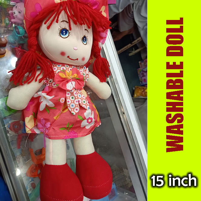 Stuffed Doll for Girls - Imported - 15 Inches Height - Excellent Doll