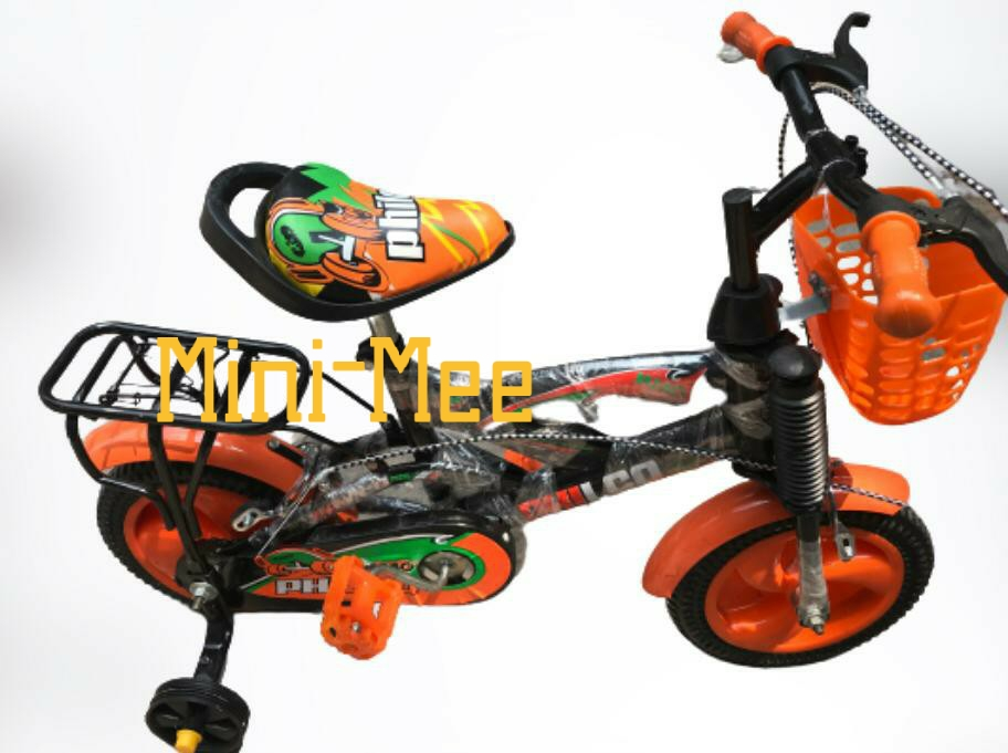 Friendly Cycle For Kids With V Brakes 12 inch  & 16 Inch Frame size