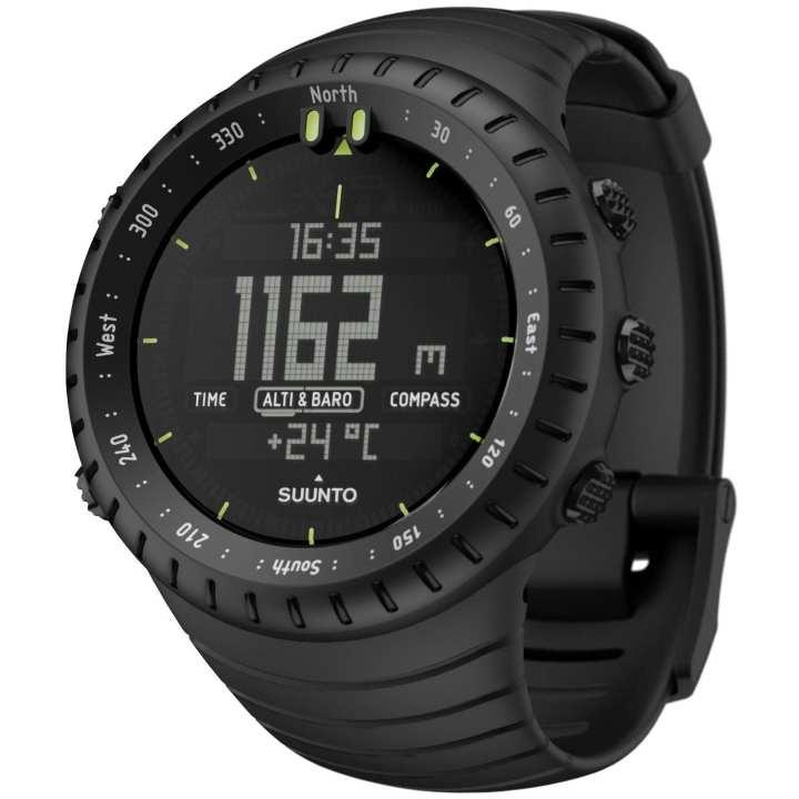 Black Sunnto Digital Watch For Men
