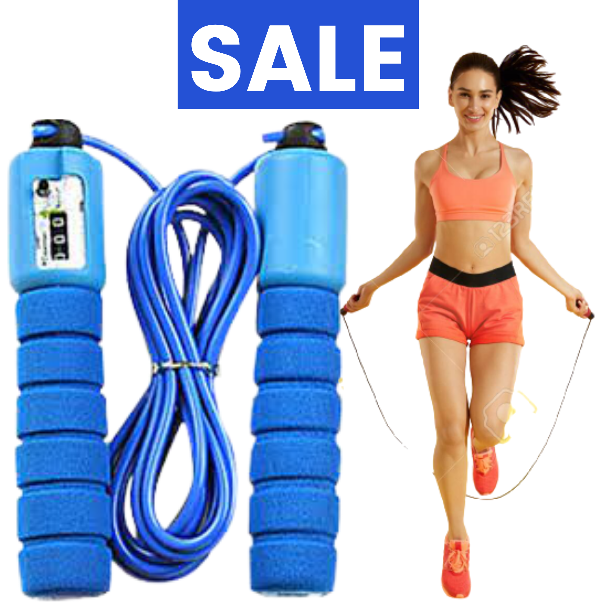 Skipping Rope for workout Original Jumping rope for men and women By Globaq Store