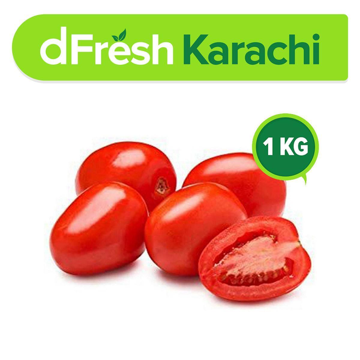 dFresh: Market Value Tomatoes (Tamatar) (1 Kg)