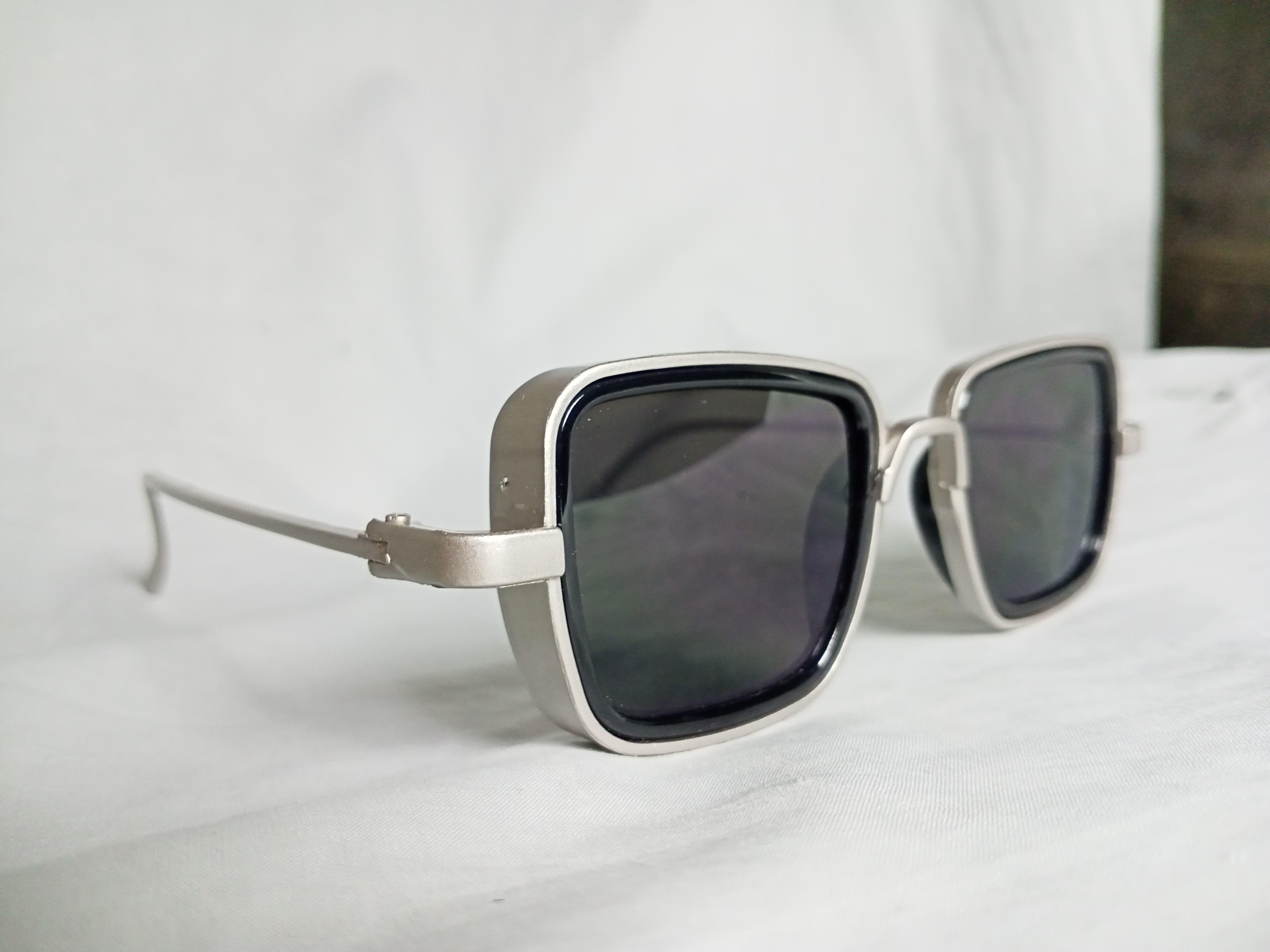 Kabir Singh glasses metal frame for men - square shape glasses for men women unisex-EYE WEAR