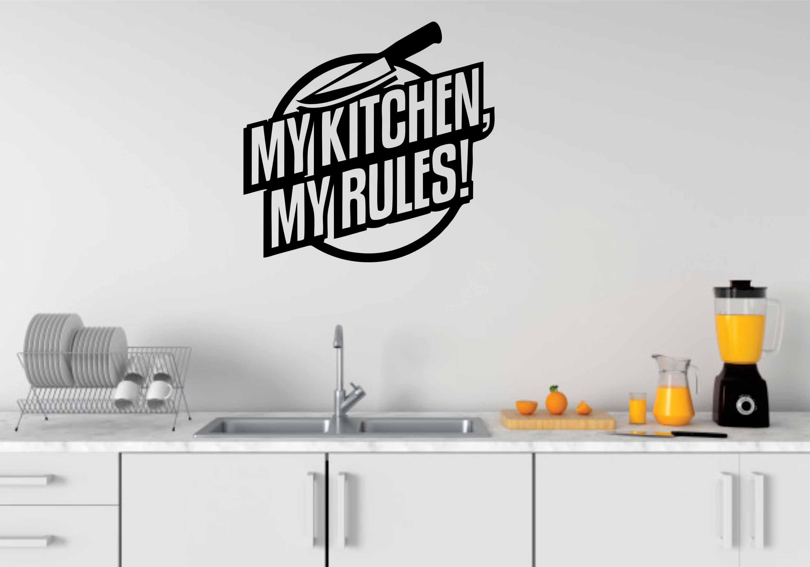 Zecor Gallery Kitchen Wall Art Sticker Dining and Kitchen Art