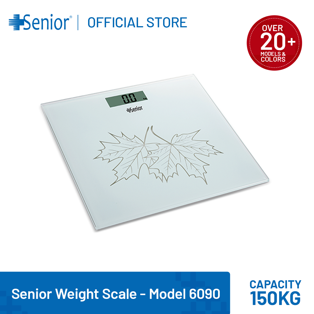 Senior Electronic Scale 6090| Personal Bathroom Scale| Weight Machine