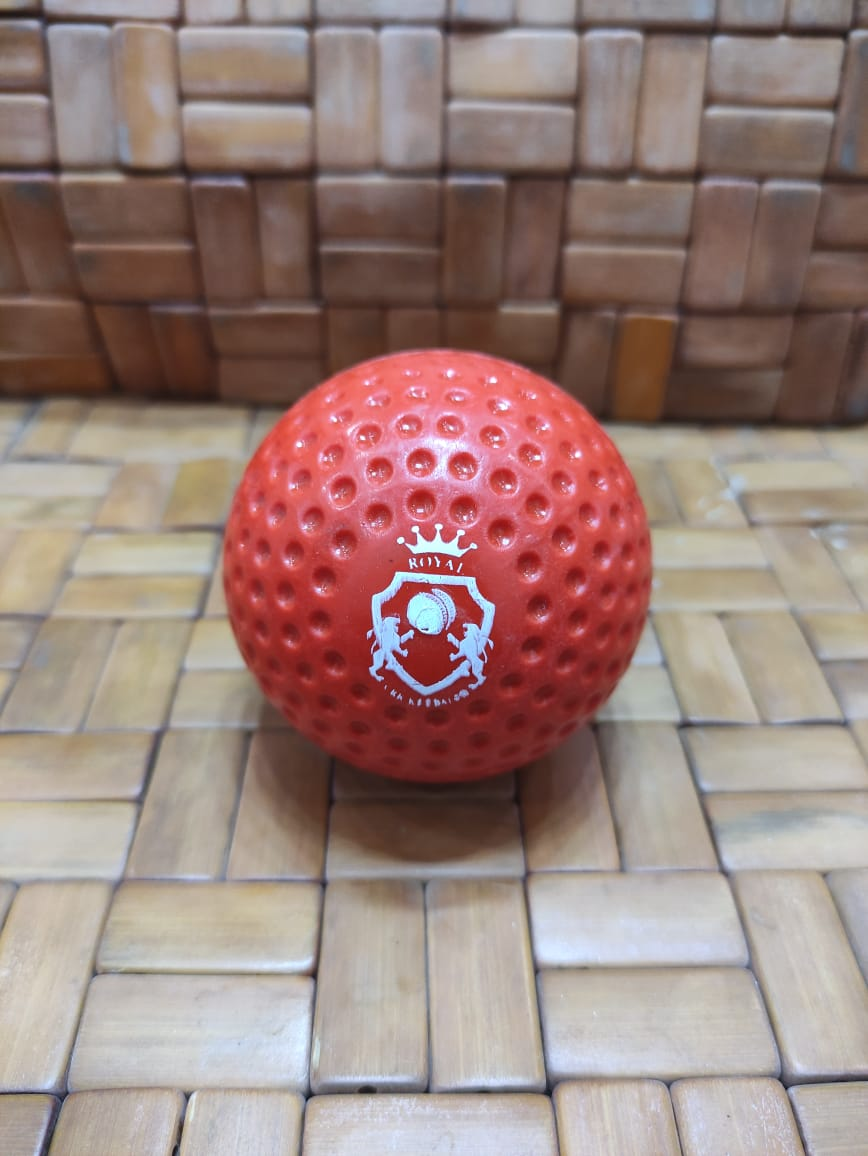 Practice Cricket Hard Ball (Synthetic) Red