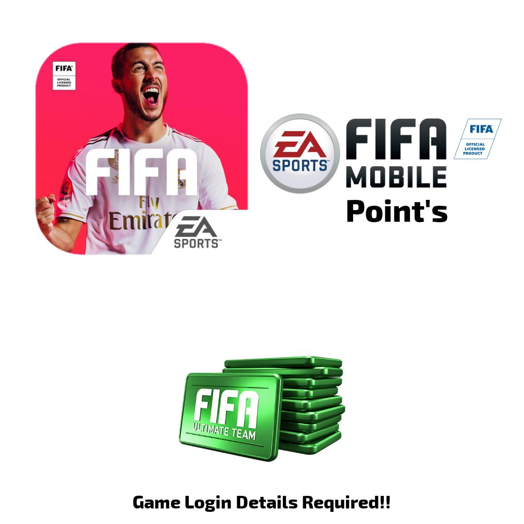 1000 Points - Fifa Mobile - Login Details Required