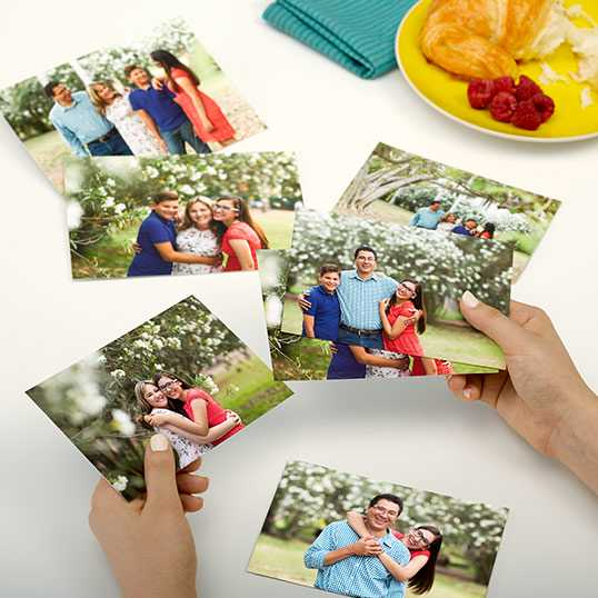 Pack of 1 & 5 Your Photo Print on Mate 4x6 Size Photo Paper