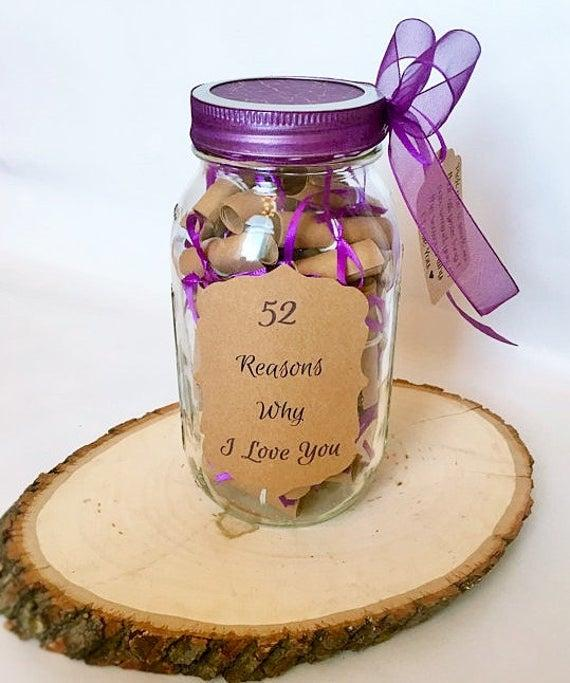 52 Reasons to love you in a jar