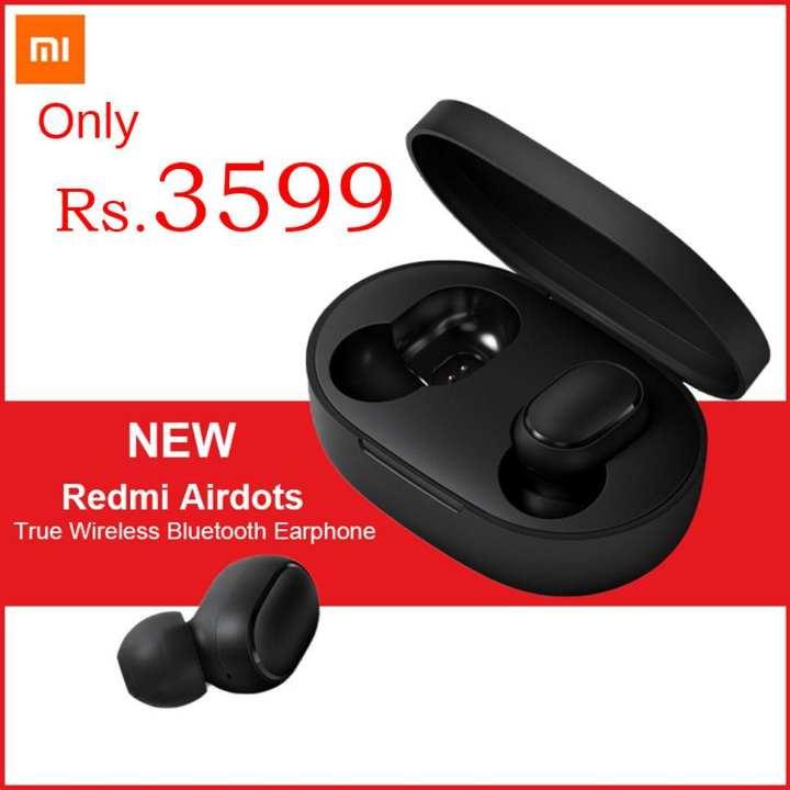 Xiaomi Mi AirDots Wireless Headphones Bluetooth V5.0 True Wireless Stereo Wireless Earphones with Wirelss Charging Case 12Hours Battery Life In-ear Earbuds