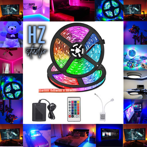 Best Quality Rgb Led strip light | Lighting for Gaming Room | For Gaming PC | Waterproof & Remote Control rgb led strip Light